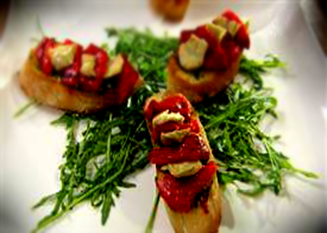 Roasted Red Pepper Bruschetta picture