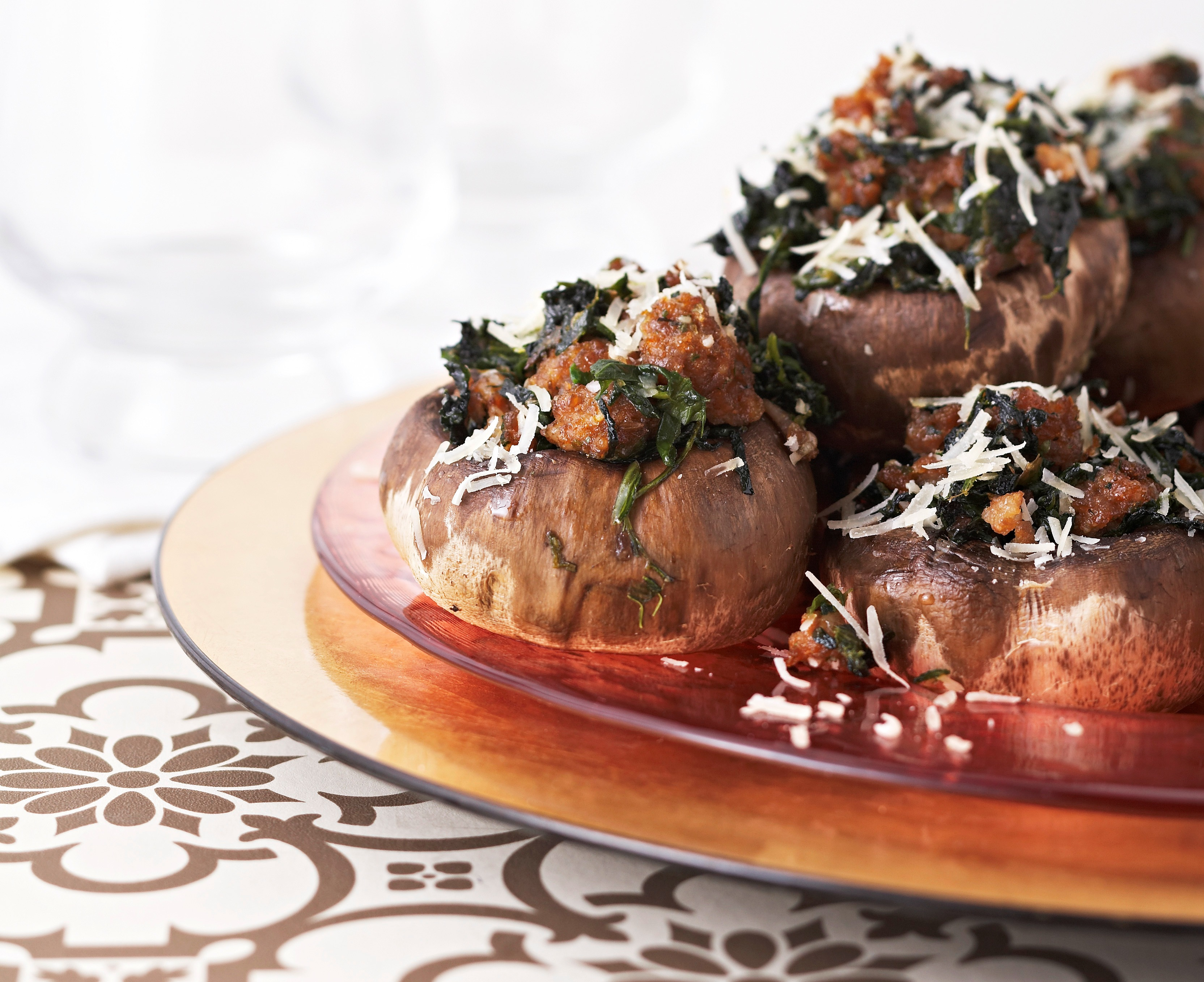 Sausage Stuffed Mushrooms picture