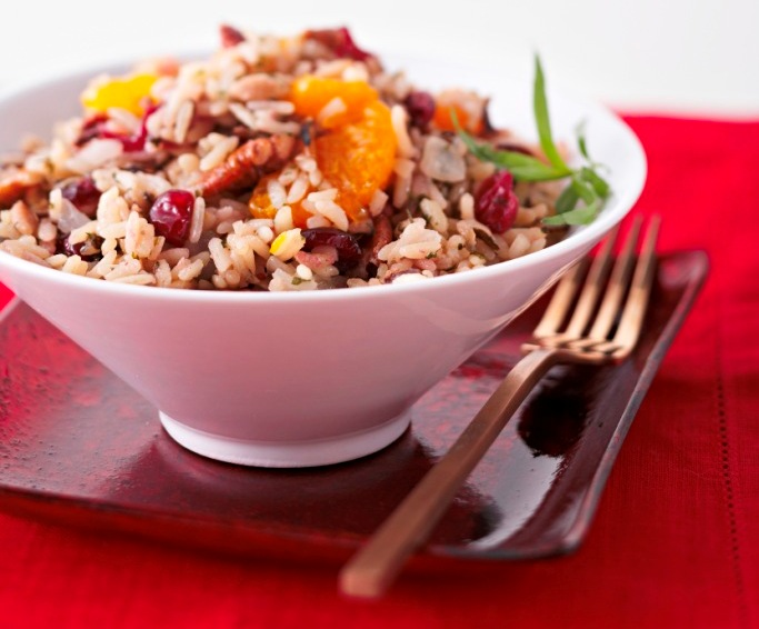 Mandarin Cranberry Rice Dressing picture