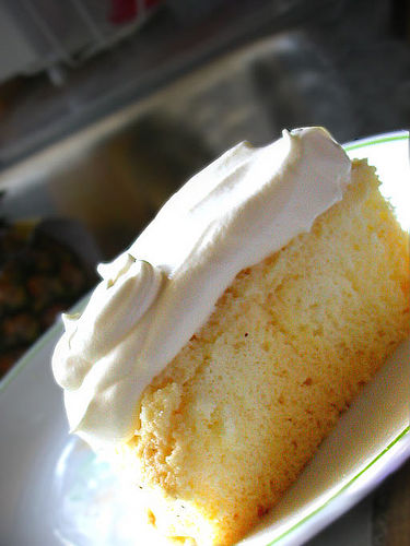 Pastel Tres Leches (Three Milk Cake) picture