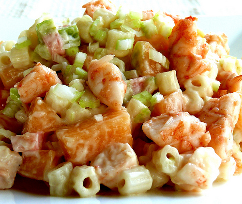 Melon With Prawns picture