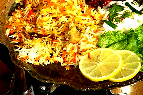 Spicy Mutton Biryani picture