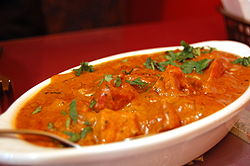 Chicken in tomato-cream sauce picture