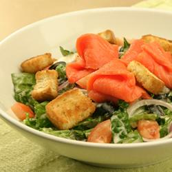 Smoked Salmon Caesar Salad picture