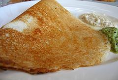 Masala Dosa with Chutney picture