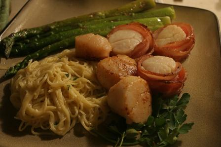 Scallops With Bacon picture