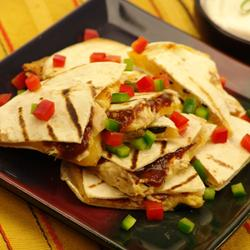Grilled Smoked Barbecue Chicken Quesadillas picture