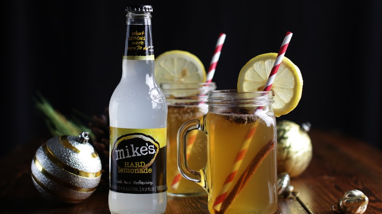 Hot Toddy With Apple Cider And Bourbon Recipe Video by ...