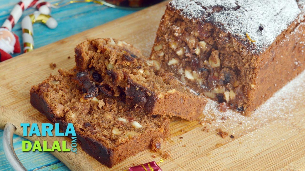 Eggless Cake Recipe Without Oven Tarla Dalal