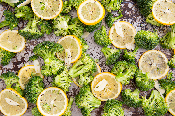 Roasted Broccoli With Meyer Lemon And Garlic
