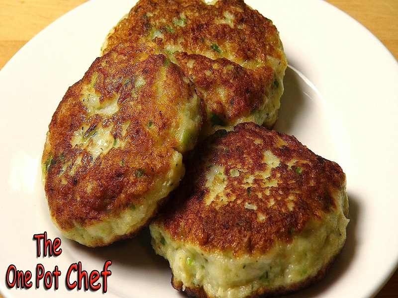Easy fish cakes recipe video by onepotchefshow for How to make fish patties