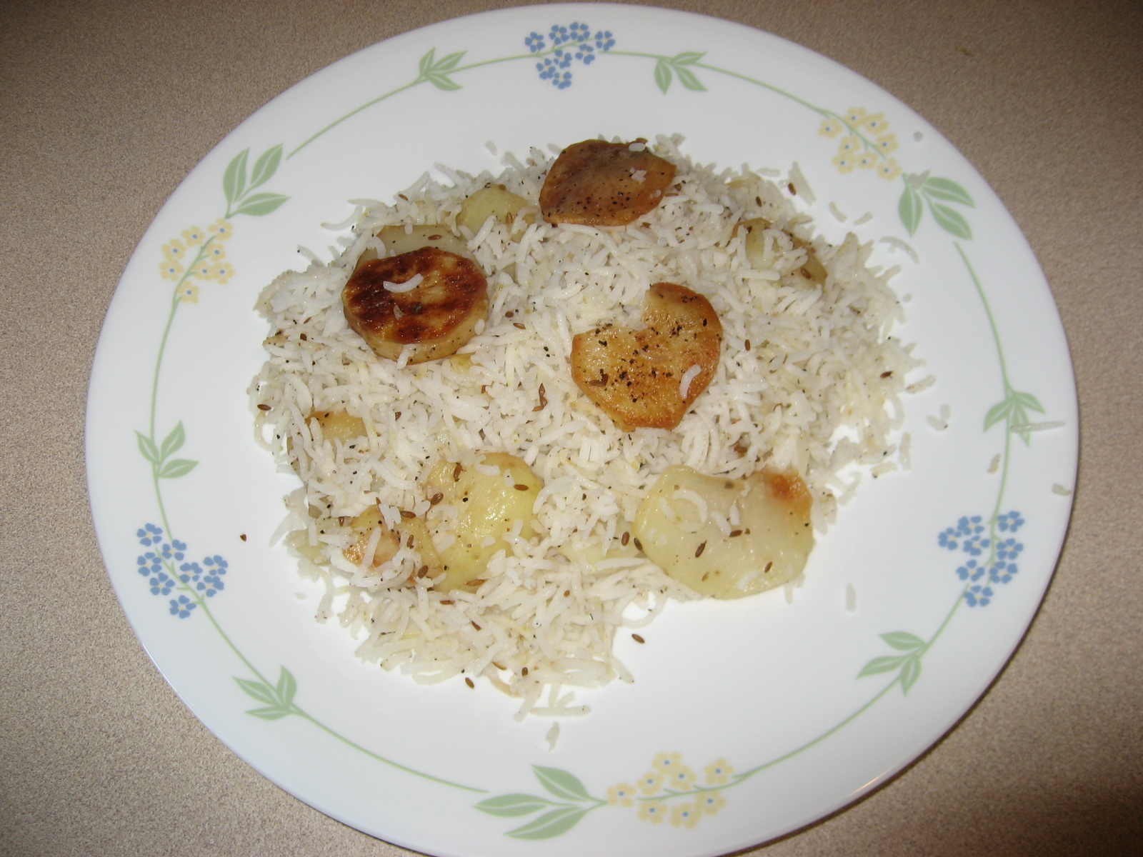 Kids special aloo rice