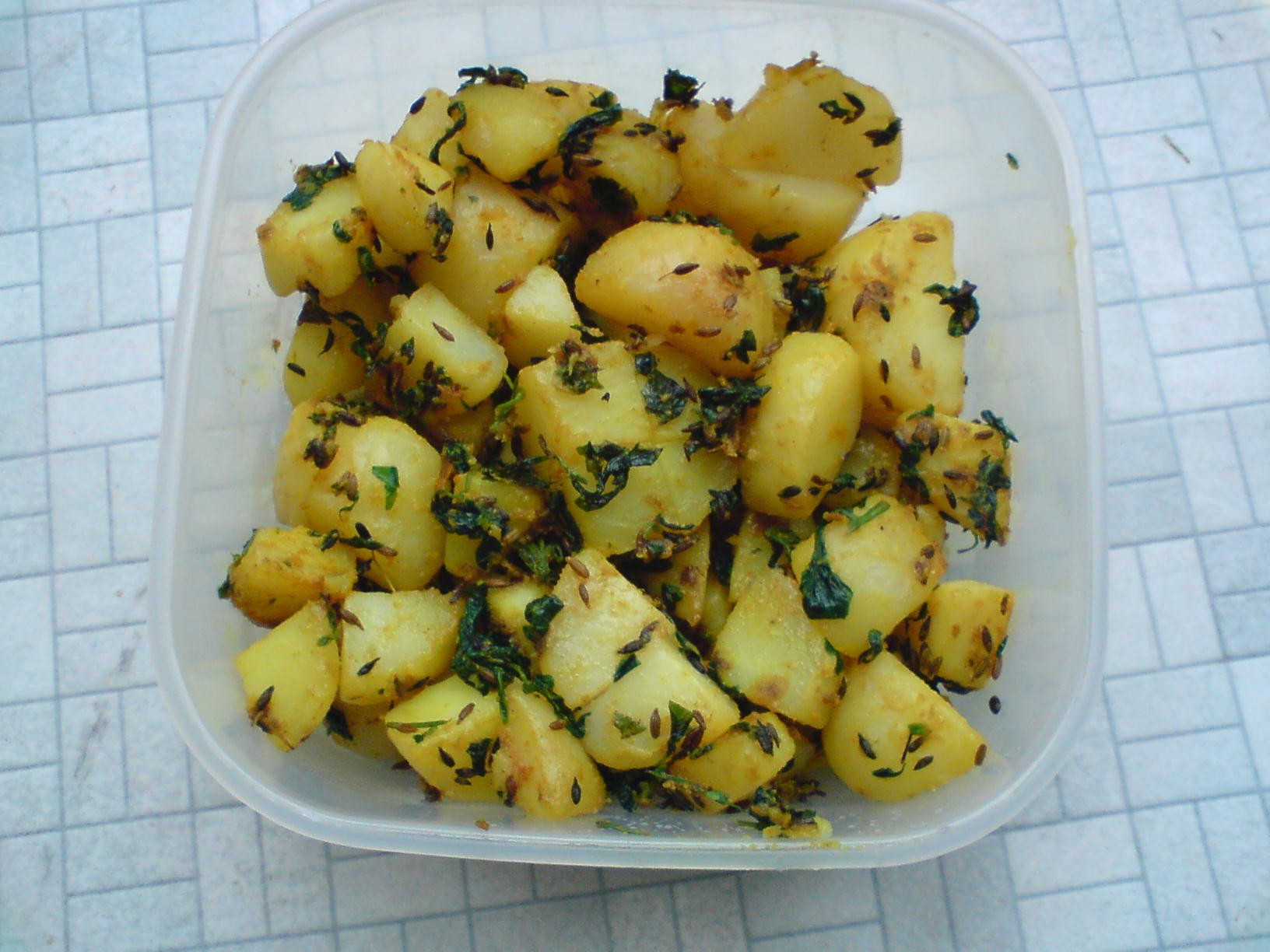 Aloo Methi  picture