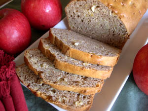 Apple & Swiss Rye Bread picture