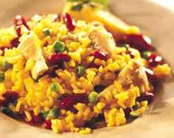 Artichoke and Kidney Bean Paella picture
