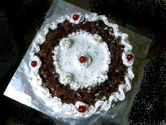 BLACK FOREST CAKE picture