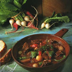 Beef Stew with Turnips (Beef Bourguignonne) picture