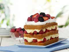 Summer Berry Cake picture