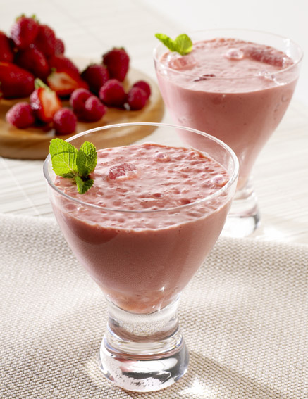 Winter Berry Yogurt Drink picture