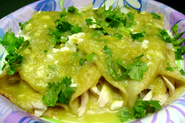 Cheese Enchiladas Verde picture