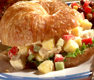 Chicken Salad Croissants picture