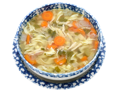 Chicken Noodle Vegetable Soup picture
