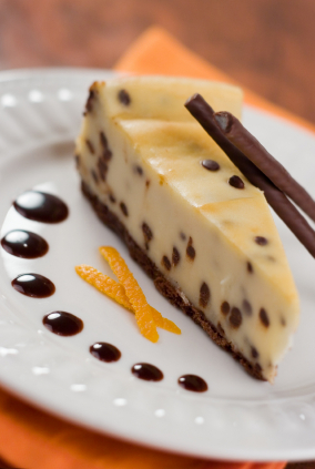 Chocolate Chip Cheesecake picture
