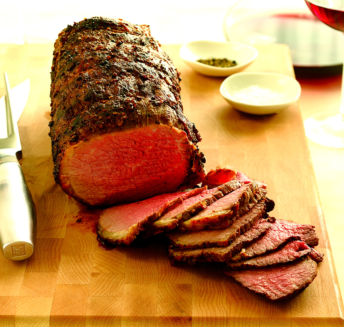 Coriander Dusted Roast Beef picture