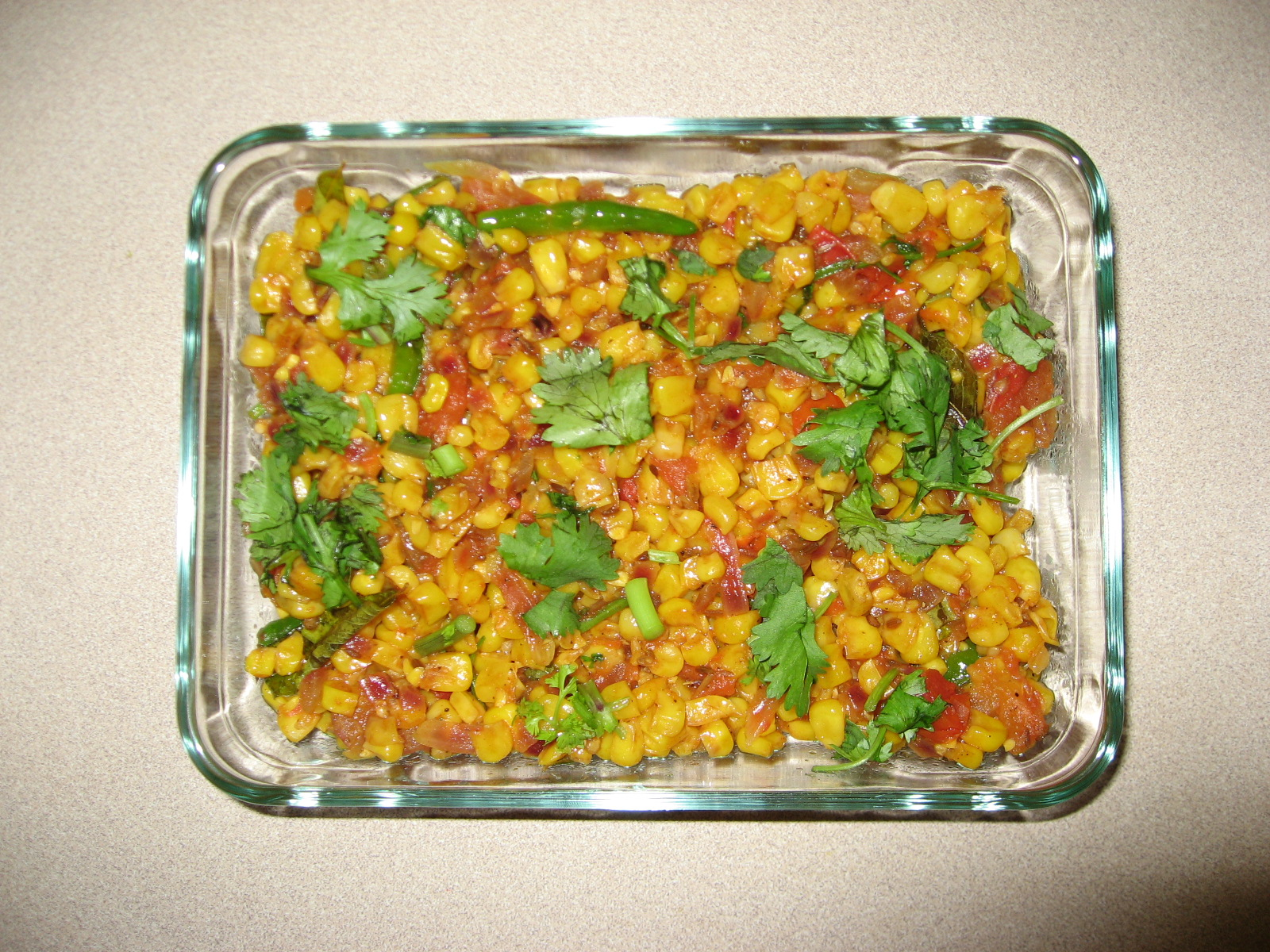 Corn Kernels Curry picture