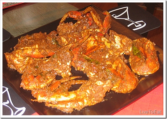 Indian Crab Dry Curry picture