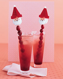 Cranberry Christmas Cocktail picture