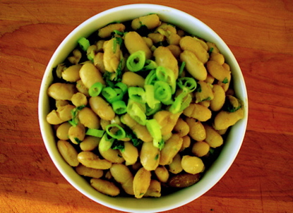 Cumin Scented White Beans picture