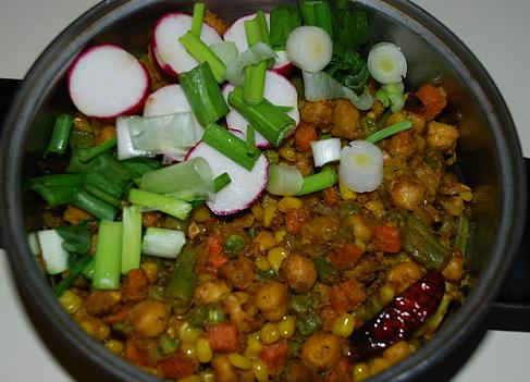 Chickpea Vegetable Mix picture