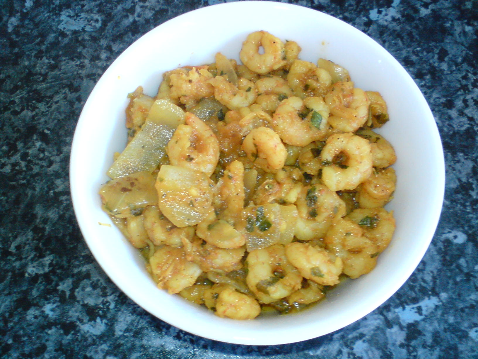 PRAWNS CURRY picture