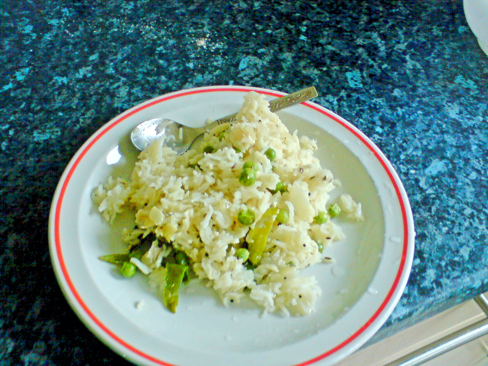 Green Peas Pulao picture