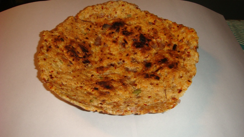 home made coconut rotti-srilanka picture