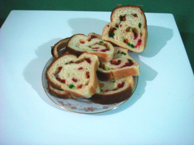 Homemade Mixed Fruit Bread picture