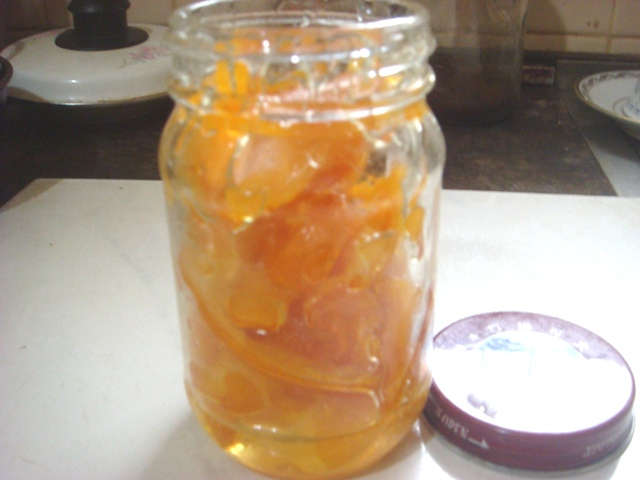 Homemade Sweet Orange Peel picture