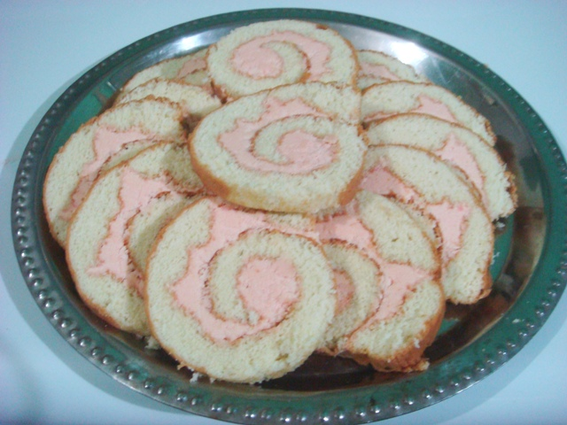 Homemade Swiss Roll picture