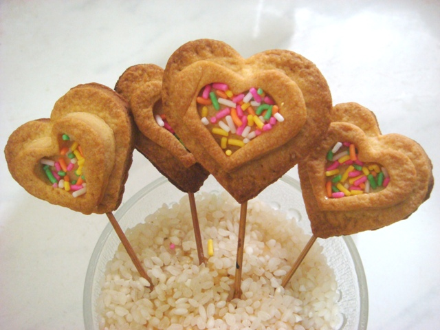 Homemade Heart shaped Cookies picture