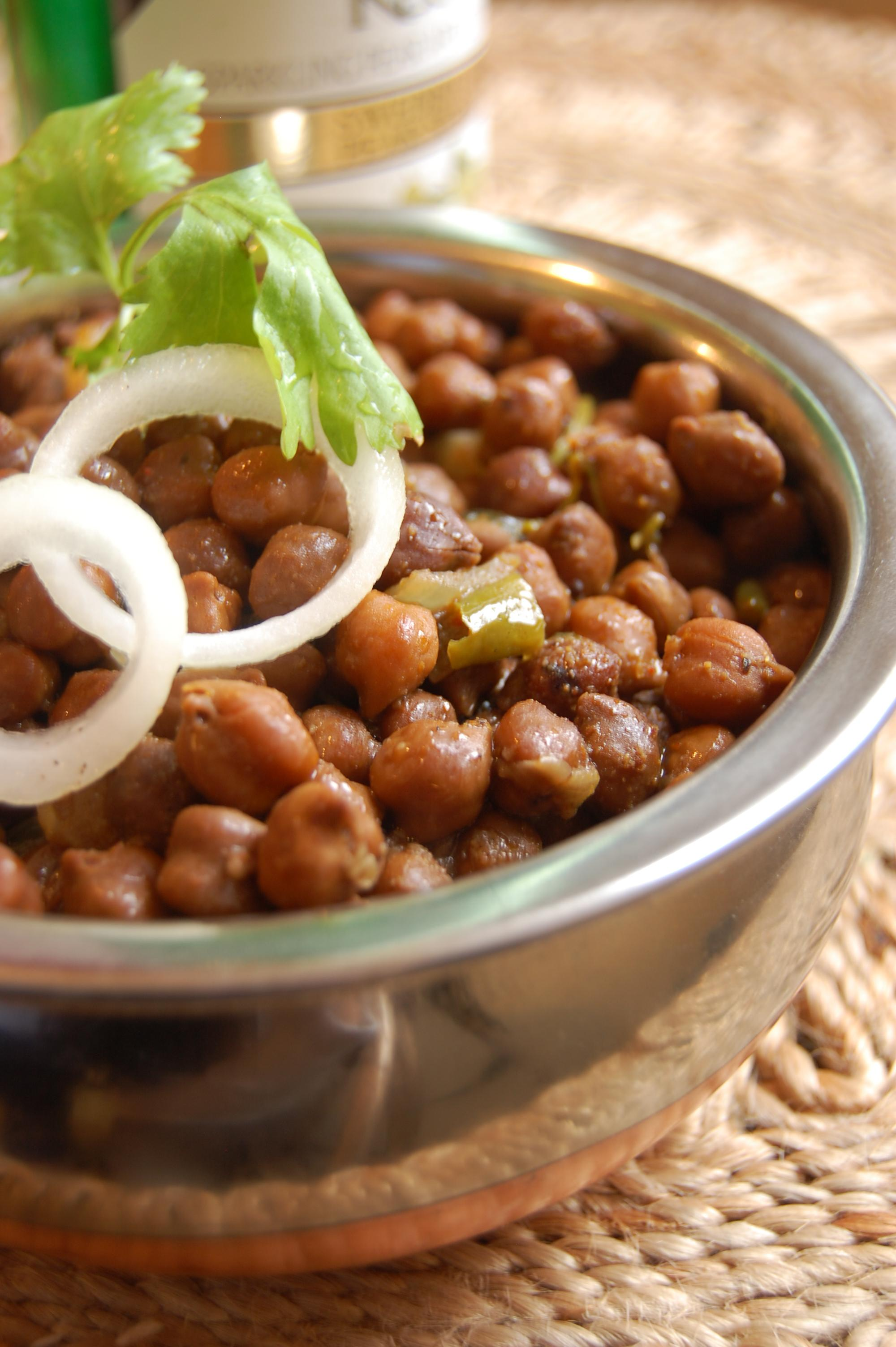 Black Chana Masala picture