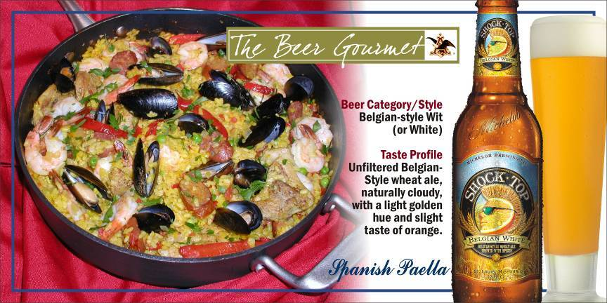 Spanish Paella with Belgian-Style Wit picture