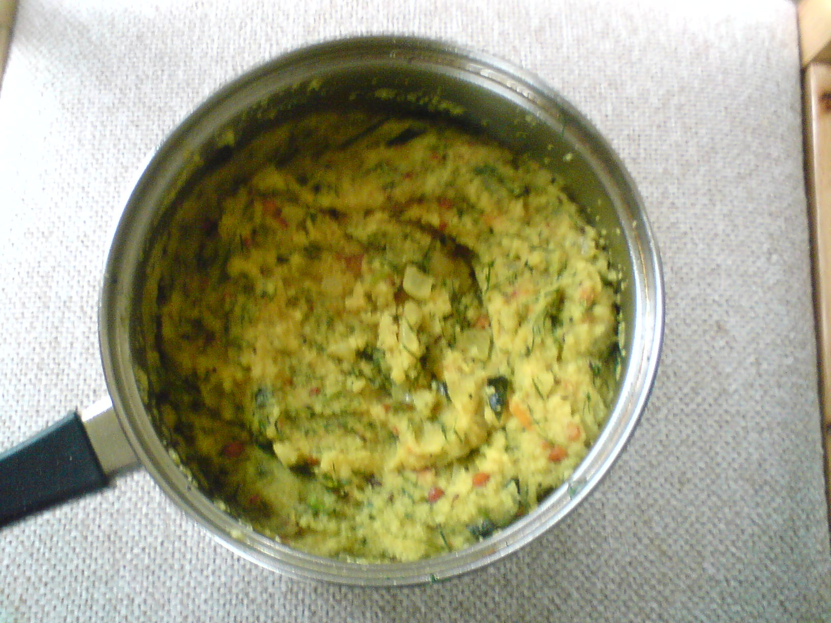 Dill Leaves Upma picture