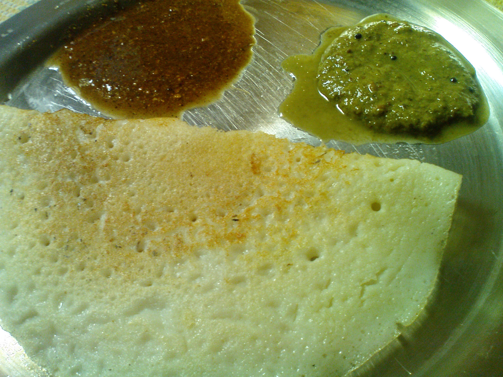 Dosa Green chutney picture