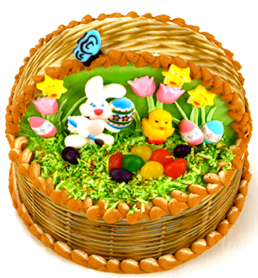 Easter Basket Cake picture