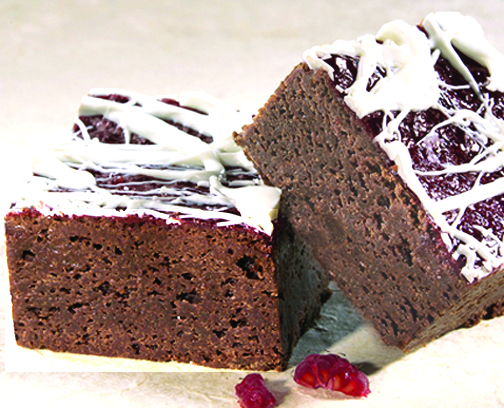 Raspberry Brownies picture