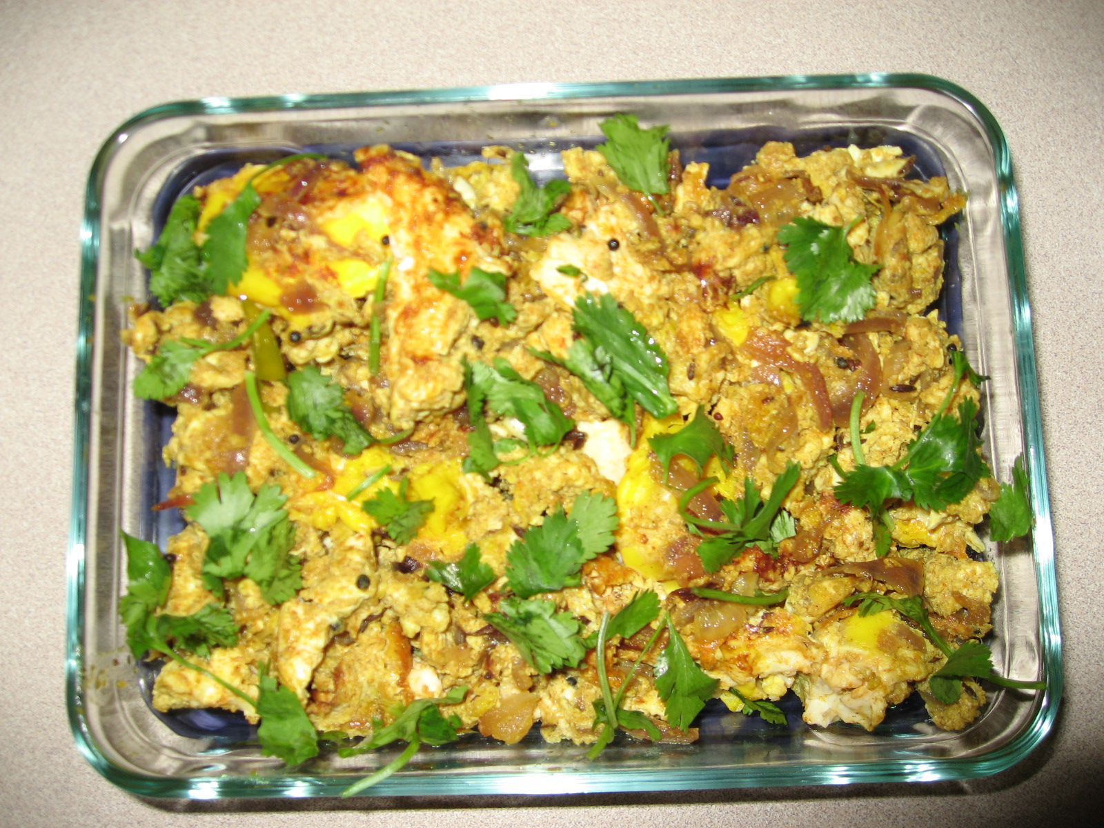 Egg Bhurji picture