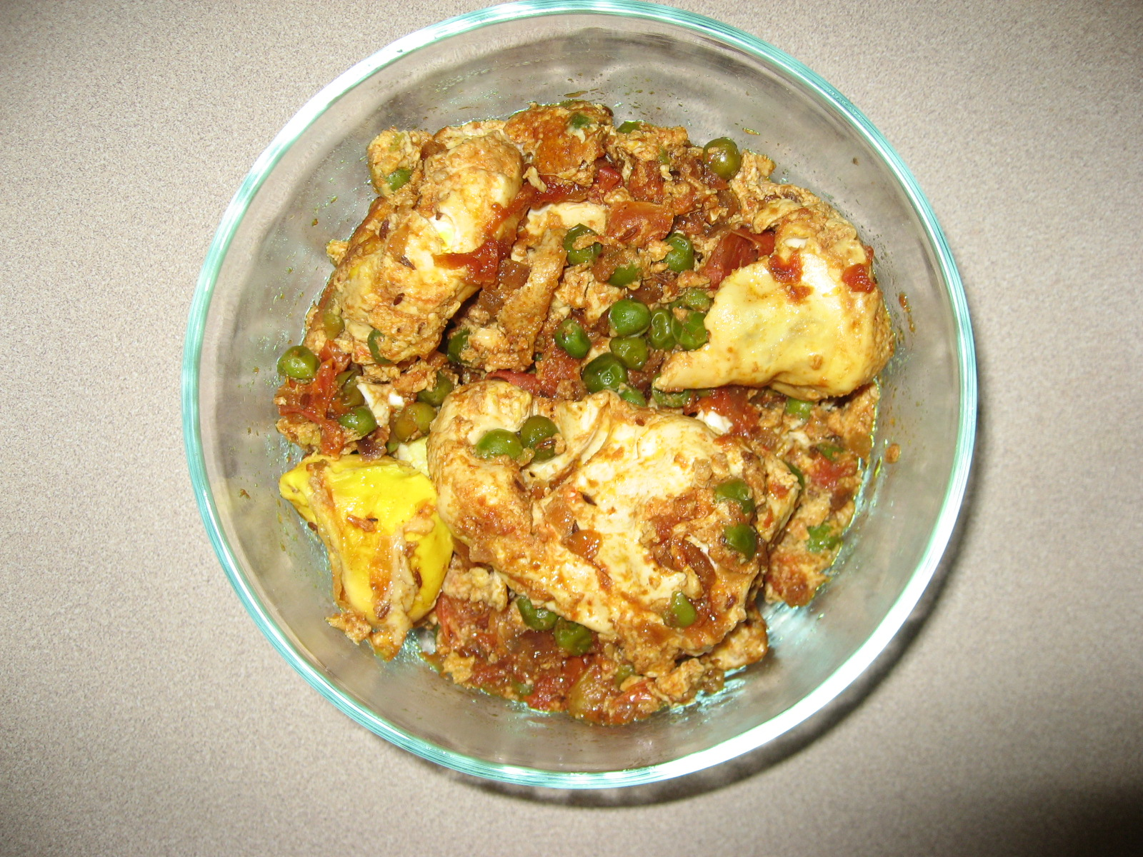 Tomato Egg Curry picture