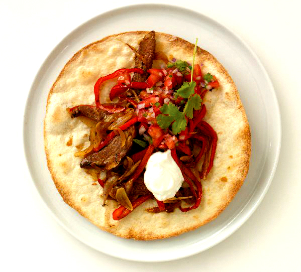 Fajitas with Roast Beef picture