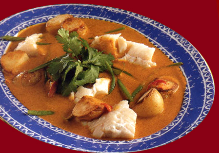 Fish and Potato curry picture
